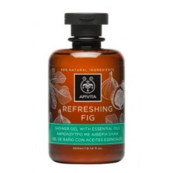 APIVITA REFRESHING FIG GEL DE BAÑO