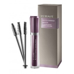 M2BEAUTÉ 3 Looks Black Nano Mascara QUICK-CHANGE ARTISTS