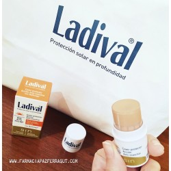 LADIVAL COVER STICK ANTI-MANCHAS SPF50+ CON DELÉNTIGO