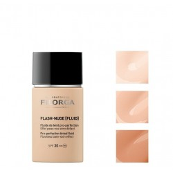 FILORGA FLASH-NUDE [FLUID] Fluido con color pro-perfeccionador SPF30 Tº02 NUDE GOLD