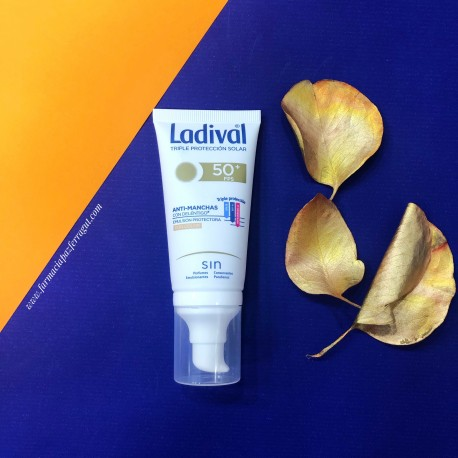 LADIVAL ANTI-MANCHAS SPF50+ CON COLOR