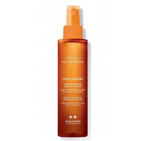 I.ESTHEDERM L'HUILE SOLAIRE Aceite solar para cuerpo y cabello