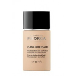 FILORGA FLASH-NUDE [FLUID] fluido con color pro-perfeccionador SPF30 Tº1.5 NUDE MEDIUM
