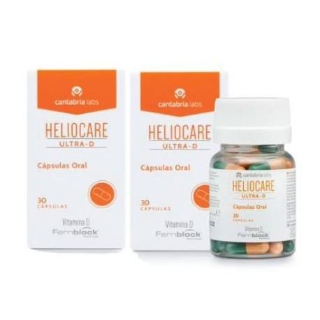 HELIOCARE Cofre Edición Limitada Ultra-D cápsulas orales 2+1