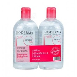 BIODERMA PACK SENSIBIO H2O 500 +250 ML.
