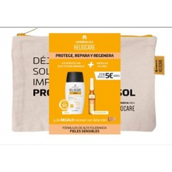 HELIOCARE 360° MINERAL TOLERANCE FLUID SPF50 PA++++ NECESER + 10 AMPOLLAS OIL-FREE ENDOCARE