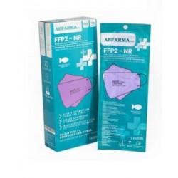 Mascarilla FFP2 Tipo Pez Violeta