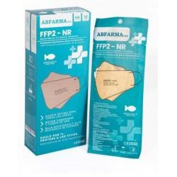 Mascarilla FFP2 Tipo Pez Beige