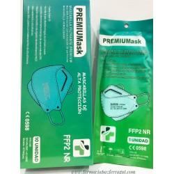Mascarilla FFP2 Tipo Pez Mint