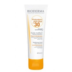BIODERMA PH SPF30 AKN MAT FLUIDO 40ML